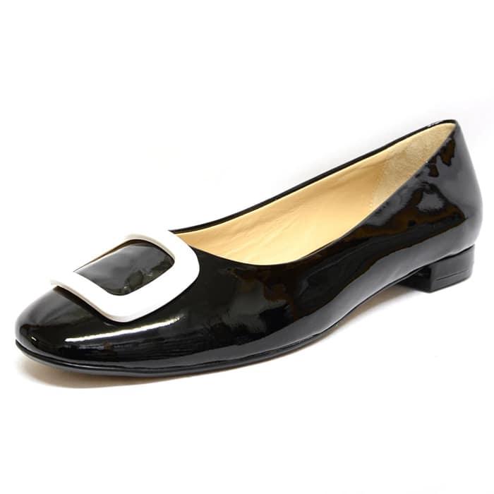 ballerines femme grande taille du 38 au 48, vernis blanc noir, talon de 0,5 à 2 cm, mode habillee plates, toutes saisons